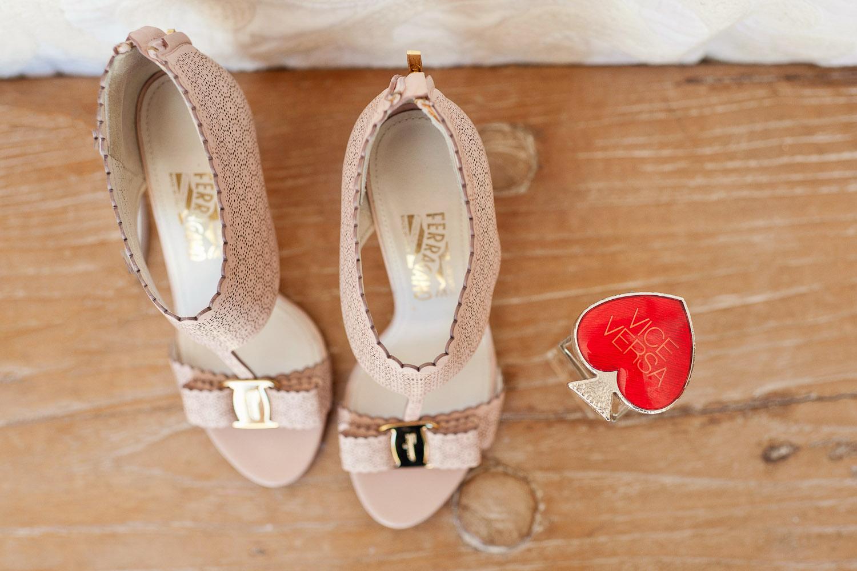 Feragamo wedding shoes